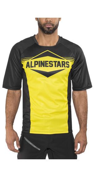 Alpinestars Mesa Kortärmad cykeltröja Herr gul/svart